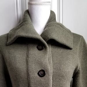 J. CREW 5 button knitted sweater